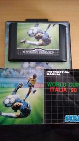 World Cup Italia 90 sega megadrive