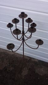 Candle Stick holdes 9 candles
