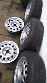 Vw mk2 golf steel wheels
