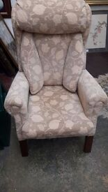 Coniston lumbar support chair.