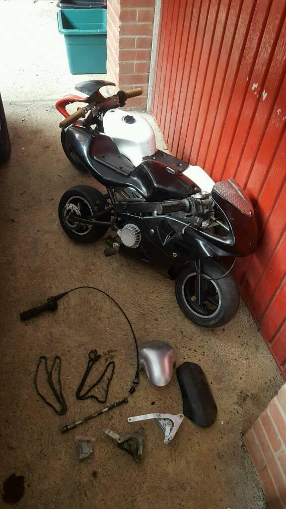 2x mini moto
