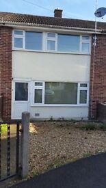 Three bed terrace house near Musgrove hospital, Taunton