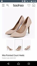 Boo boo heels brand new size 4