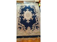 Blue rugs two identical 185cm x 122cm approx