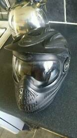 Paint ball helmet