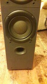 B & W DM603 S2 floor standing speakers
