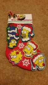 Simpsons Christmas Stocking