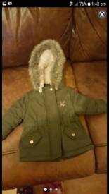 Girls coat 3 to 6 months