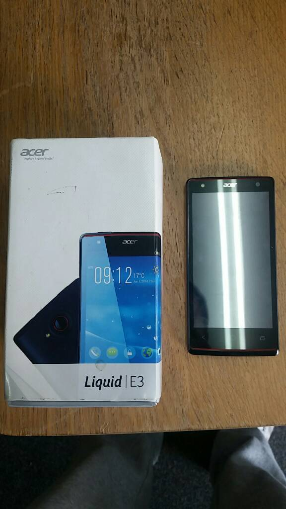 Phone acer E3in Beeston, West YorkshireGumtree - Phone acer Liquid E3 perfect working condition unlocked