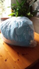 Child's beanbag with separate washable cover