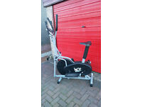cross trainer with exercise bike combined. very good condition as new