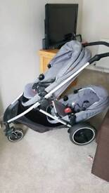 Phil and Ted's Voyager Double Pushchair