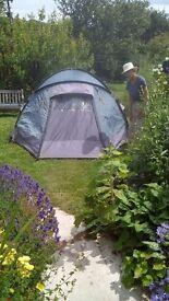 Three person tent