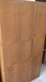 SOLID WOODEN DOUBLE WARDROBE