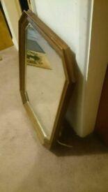 Antique style mirror