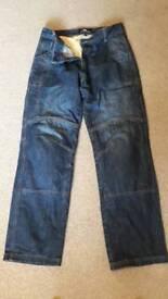 Kevlar motorbike jeans