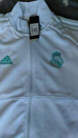 Real Madrid tracksuit top