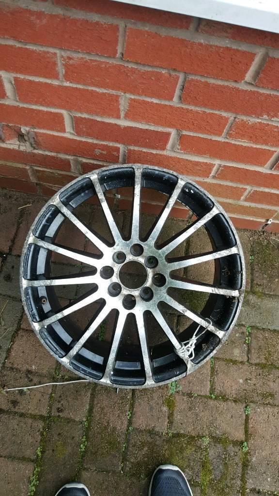 18 inch alloys Wolfrace
