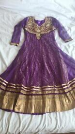 Asian dress size 10-12