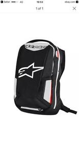 Alpine stars city hunter motorcycle back pack