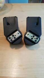 Maxi cosi carseat adaptors for quinny pushchair