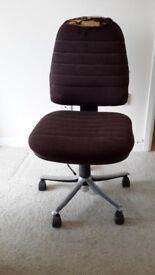Office chair swivels
