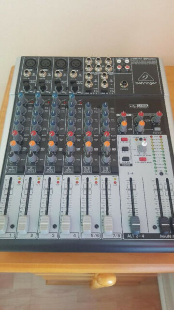 Behringer xenyx 1204 usb 8 channel mixer   in Sunderland, Tyne and Wear    Gumtree