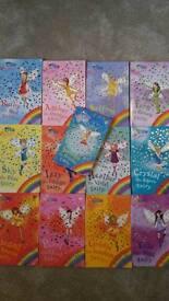 Rainbow Magic Fairy book set- Orchard Books