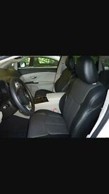 VAUXHALL ZAFIRA CITREON C4 GRAND PICASSO TOYOTA VERSO LEATHER CAR SEAT COVERS