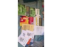Exam pass papers and revision books