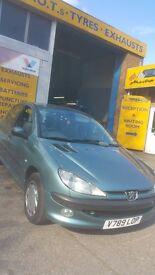 Peugeot 206..2000 reg urgent sale