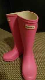 Brand New Hunter Wellies size 13