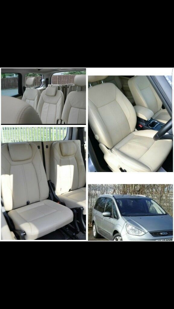 LEATHER CAR SEATCOVERS FOR FORD GALAXY VOLKSWAGEN SHARAN