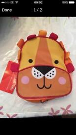 BNWT Lion Backpack with Lanyard