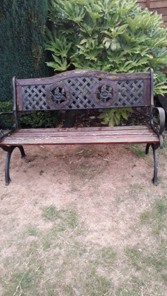 Garden Bench Old Unusual Reduced In Stowmarket