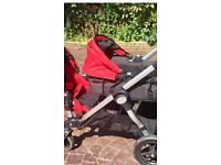 Baby jogger city select double can deliver