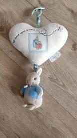 Peter Rabbit door hanger