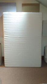Orthopaedic Foam/Latex Double Matress (135x190cm) - Medium/Firm Comfort
