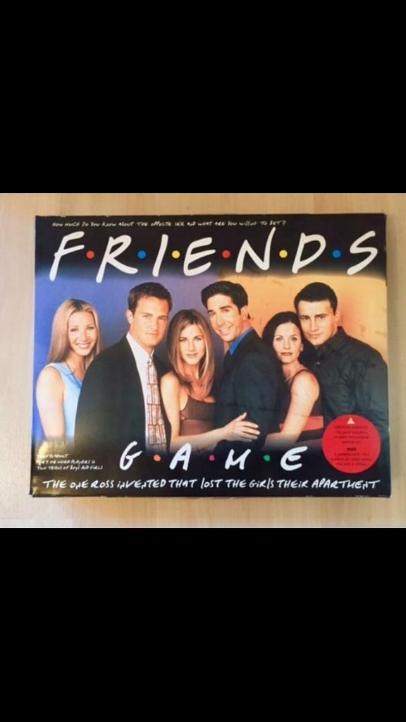 Friends board game, cellophane off but not ever played so all cards etc mint.