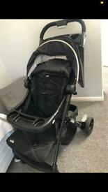 Joie travel system pushchair and car seat