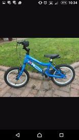 Blue ridgeback bike