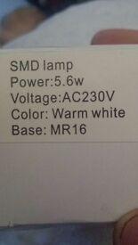 12 mr16 5.6w led bulbs
