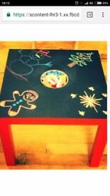 BRAND NEW CHALK TABLE OVNO
