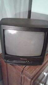 "PANASONIC CLASSIC 14"" OLD SCHOOL TV FOR SALE - £75 Good Condition HARD TO FIND ONE but no remote"