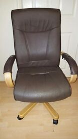 Leather computer/office chair