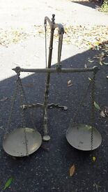 Ornamental Bank Weighing Scales