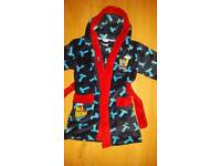 Thomas the tank engine dressing gown