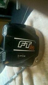 """CALLAWAY FT IQ 9 DEGREE DRIVER S FLEX GRAPHITE FUBUKI 60"""" SHAFT"""