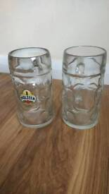 Large glasses stein