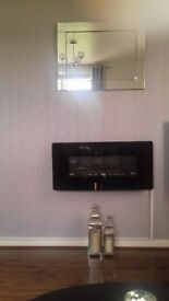Electric Wall Mounted Fire
